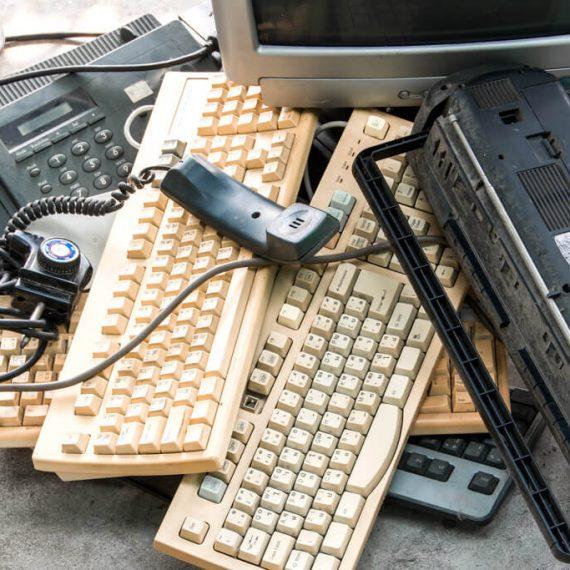 rreciclaje de material informatico