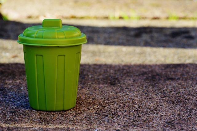que se tira en el contenedor verde