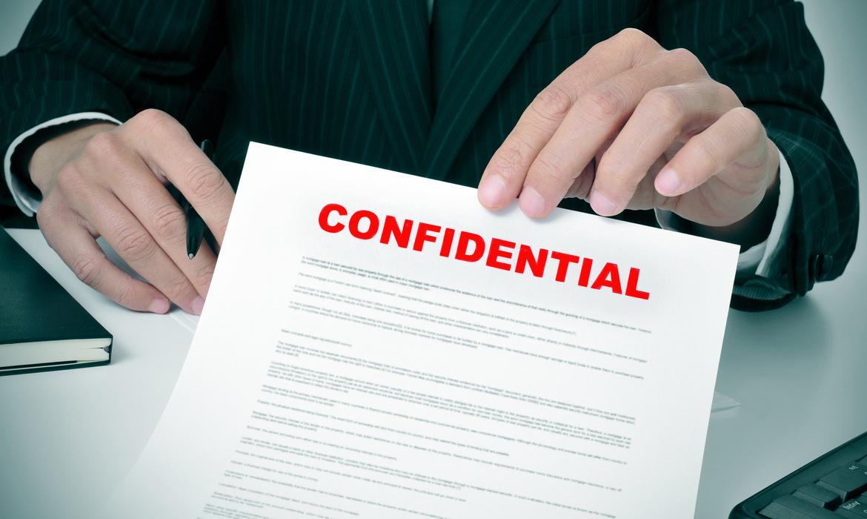 confidencial-significado