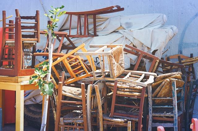 retirada de muebles viejos